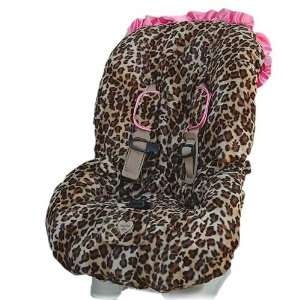 Baby Bella Maya Pink Leopard Toddler Car Seat Cover Baby