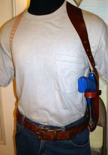 LEATHER SHOULDER HOLSTER 4 4 3.8 SPRINGFIELD XDM 4XD