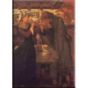 Love Potion 21x30 Streched Canvas Art by Rossetti, Dante Gabriel Home