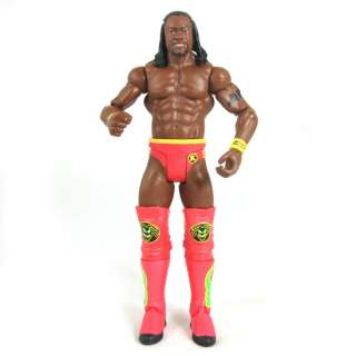 127N WWE Series 15 Wrestling Mattel Kofi Kingston Figure