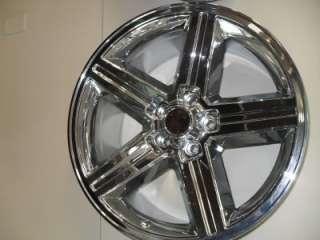 20x9 Chevy Camaro Iroc Chrome Wheels 702 2934