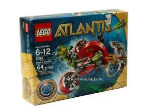 Lego Atlantis~WRECK RAIDER~#8057