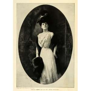 1906 Print Fritzi Scheff American Actress Singer Mlle Modiste Play