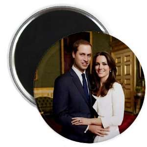 Prince William Kate Middleton Royal Engagement 2.25 Fridge