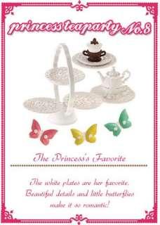 Re ment dollhouse miniature Barbies toys princess tea party 3 sets
