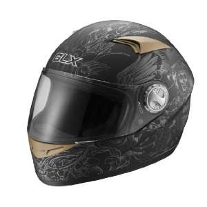 Face Motorcycle Street Helmet Matte Black Reaper X Large Automotive