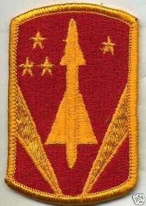 US Army 31st Air Defense Artillery Brigade Color Patch
