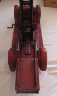 1920 s BUDDY L FIRE TRUCK AERIAL LADDER PRESSED STEEL ALL ORIGINAL