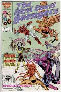 WEST COAST AVENGERS #10, Griffen ,Iron Man,Thing, NM+