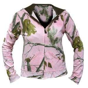 Girl AP Pink Camo Zip Hooded Jacket ~ Ladies Hunting Hoodie NEW