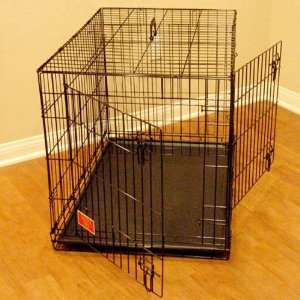 48 Titan Double Door Folding Dog Crate Cage   Extra Large
