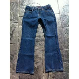 Womens SILVER Jeans, boot cut, mid rise, dark wash sz. 29