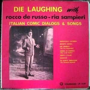 Italian Comic Dialogs & Songs   Standard LP 439 Rocco de Russo Music