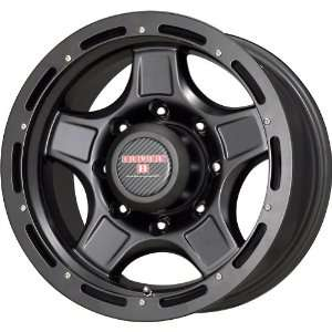 Level 8 Matte Black Wheel (17x9/5x127mm) Automotive