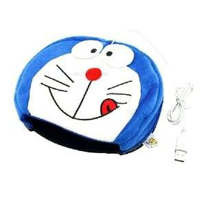 Doraemon Ding Dong Hand Warmer Heated Mouse Pad