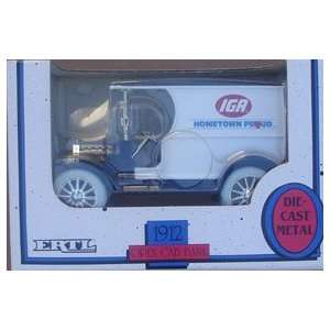 Ertl Die Cast Metal IGA Grocery Co. Truck Bank: Everything