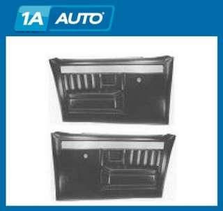 Chevy GMC Truck w/Manual Windows Plastic Door Panels