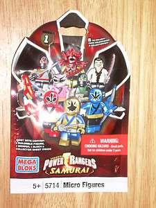 MEGA BLOKS 5714 Sabans POWER RANGERS Samurai Series 1 Micro Figure