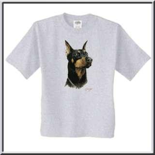 Killen Doberman Pinscher Dog Breed T Shirt 4X,4XL,5X