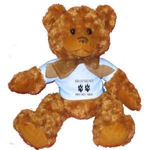 GERMAN SHORTAILED POINTER MANS BEST FRIEND Plush Teddy