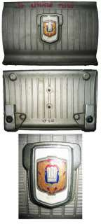 toyota crown ms60 oil tank cover plate with badge