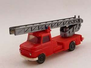 Wiking, Mercedes, Fire Truck, Aerial, Ladder, Emergency Vehicle [H10