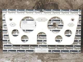 67 68 69 70 71 72 Chevy Truck Billet Aluminum Dash Insert Gauge Panel