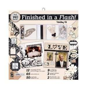 Finished In A Flash Page Kit 12X12   Wedding Arts, Crafts