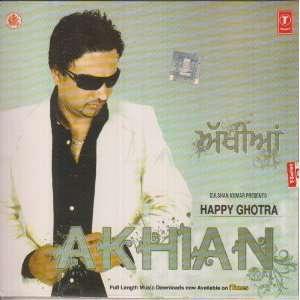 Akhian: Punjabi Songs by Happy Ghotra: Happy Ghotra: Music