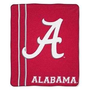 Alabama Crimson Tide UA NCAA 50 X 60 Royal Plush Raschel