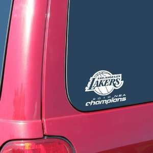 Los Angeles Lakers 2010 NBA Champions Back to Back Champs 5 x 6