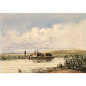 Oil Reproduction   David Cox   32 x 22 inches   Dudley Home & Kitchen