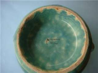 Art Deco MELROSE WARE Green Aust. Pottery Bowl RARE