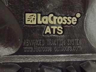 Kids boys boots black LaCrosse 5 M leather winter snow