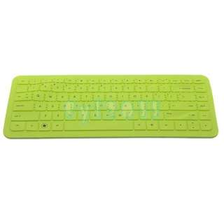 Green Silicone Keyboard Cover Protector Skin for HP Pavilion G4,G6