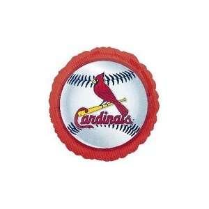 18 MLB St. Louis Cardinals Baseball   Mylar Balloon Foil