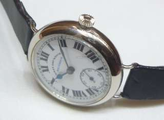 GENUINE VINTAGE WEST END WATCH CO SECUNDUS SUB SECOND WINDING SWISS