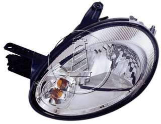 DODGE NEON 03 05 LEFT DRIVER SIDE LH HEADLIGHT HEADLAMP CHROME NEW