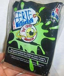 Wendys Kids Meal Toy Eerie Indiana Evidence Tag # 13 Secret Storage