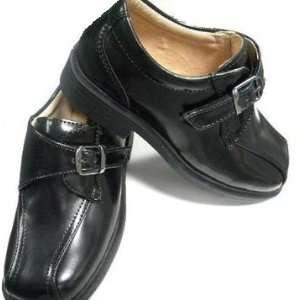 Infant & Toddler Boys Black Dress Leather Shoes Tuxedo