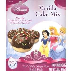Disney Princess Vanilla Cake Mix Cool Bake Magic Oven