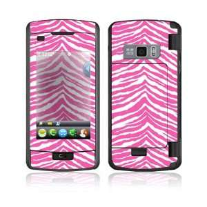 Pink Zebra Decorative Skin Cover Decal Sticker for LG enV Touch