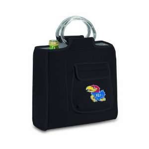 Jayhawks KU Insulated Lunch Box Picnic Tote Bag