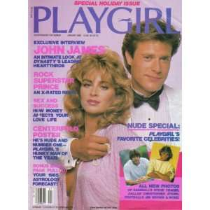 1985 / John James, Prince, Man of the Year: Playgirl Magazine: Books