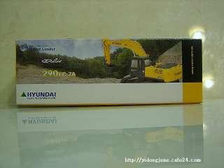 HYUNDAI ROBEX 290 LC 7A 150 CONSTRUCTION EXCAVATOR CARS TOYS KOREA