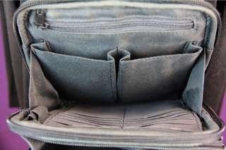 Vintage LEATHER Crossbody FOSSIL Shoulder Bag TRAVEL Case Purse