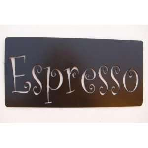 Espresso,Metal Art,Coffee Cup,Kitchen, Cafe,Restaurant