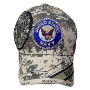 USA US NAVY SEAL DIGITAL STONE CAMOUFLAGE CAP HAT ADJ