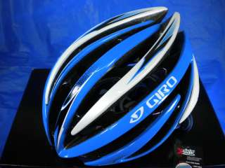NEW 2012 GIRO AEON CYCLING BIKE HELMET BLUE BLACK LARGE