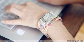 DONT MISS Lots 6Pcs Fashion Lady Bracelets Watches